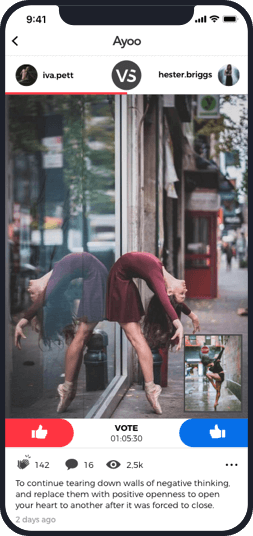 Global network for dancers